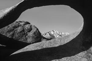 Arch, Alabama Hills National Recreation Area, Sierra Nevada Mountains, California by Zandria Muench Beraldo