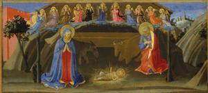 The Nativity, c.1433-34 by Zanobi Di Benedetto Strozzi