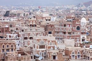 Old Sanaa Buildings - Traditional Yemen House by zanskar