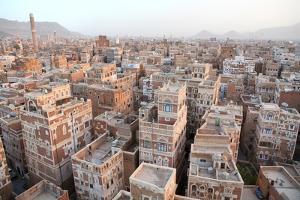 Old Sanaa Buildings - Traditional Yemen Houses by zanskar