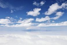 Salar De Uyuni, Salt Flat in Bolivia-zanskar-Photographic Print