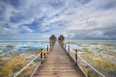 Zanzibar Pier-Marco Carmassi-Photographic Print