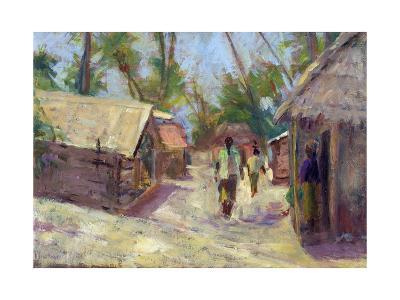 Zanzibar Village, 2001-Karen Armitage-Giclee Print