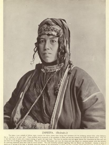 Zareefa, Bedouin--Photographic Print