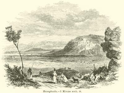 Zarephath, 1 Kings, XVII, 9--Giclee Print