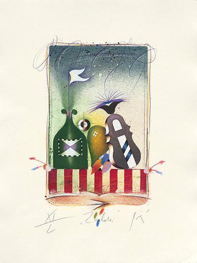 Zauberei, 2001-Peter Korinek-Limited Edition