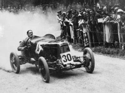 Zborowski Driving a 1922 Aston Martin 1.5 Litre 'Strasbourg' at Shelsey Walsh, (1922)