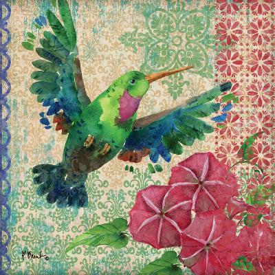 Zealous Hummingbird I-Paul Brent-Art Print