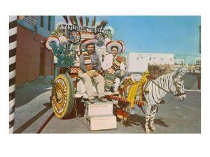 Zebra Donkey Cart, Tijuana, Mexico