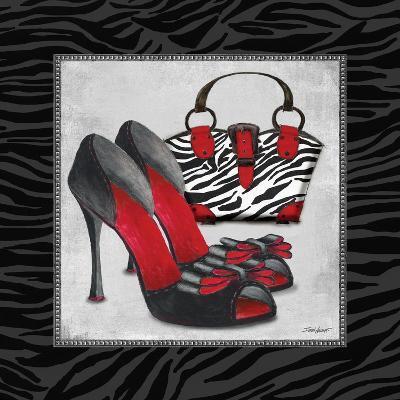 Zebra Fashion I-Todd Williams-Art Print