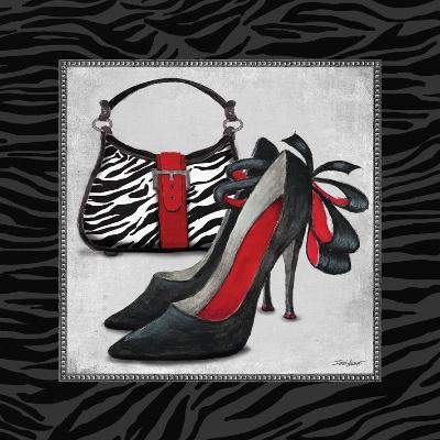 Zebra Fashion II-Todd Williams-Art Print