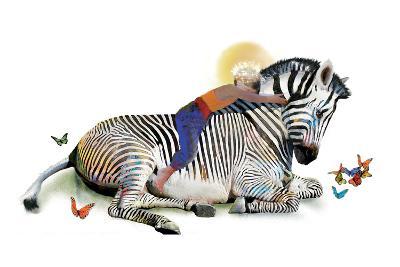 Zebra Love-Nancy Tillman-Art Print