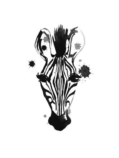Zebra Splash-Alicia Zyburt-Art Print