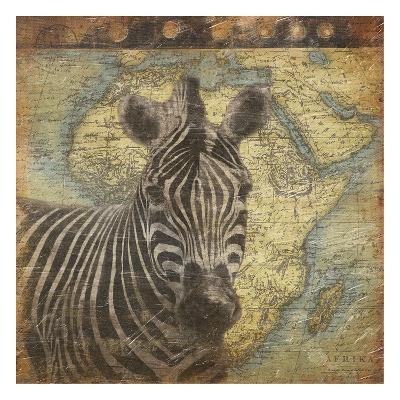Zebra Travel-Jace Grey-Art Print