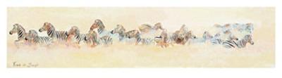 Zebra-Frank De Burgh-Art Print