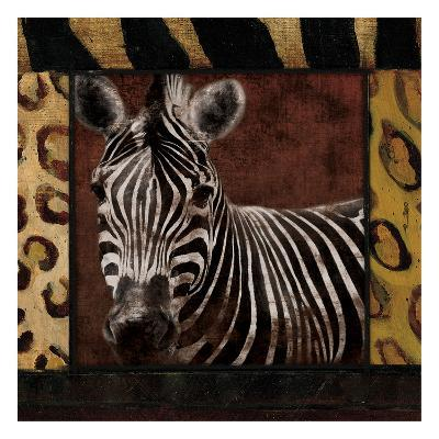 Zebra-Jace Grey-Art Print