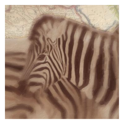 Zebra-Taylor Greene-Art Print