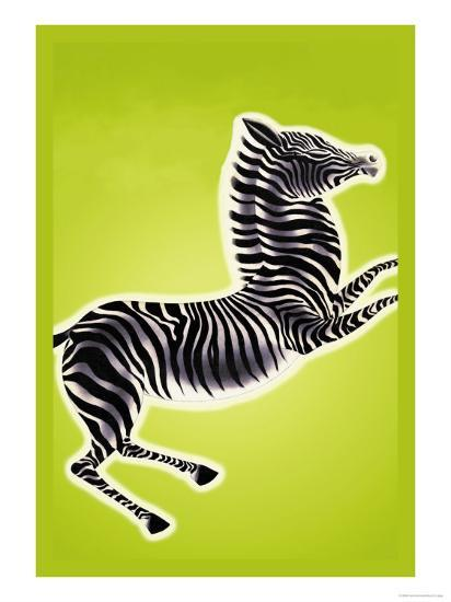 Zebra-Frank Mcintosh-Art Print