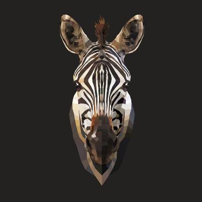 Zebra-Lora Kroll-Art Print
