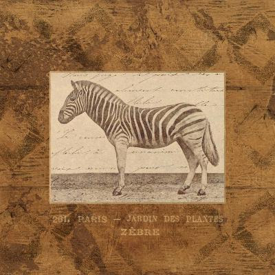 Zebra-Hugo Wild-Art Print