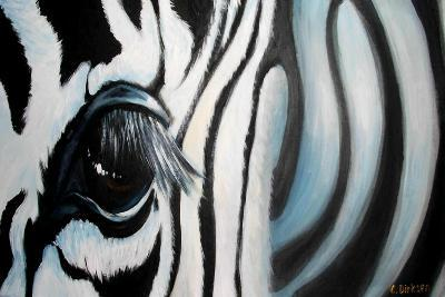 Zebra-Cherie Roe Dirksen-Giclee Print