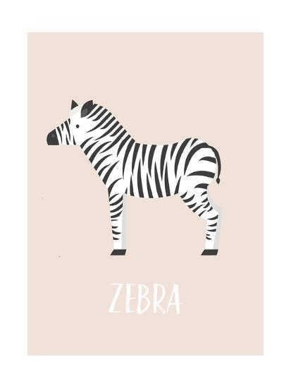 Zebra-Kindred Sol Collective-Art Print