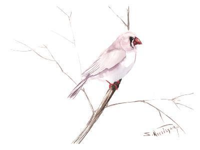Zebrafinch-Suren Nersisyan-Art Print