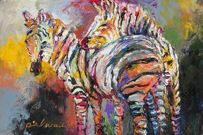Zebras-Richard Wallich-Giclee Print