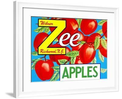 Zee Apples--Framed Art Print