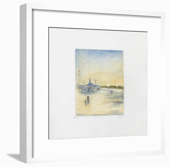 Zee I-Lou G. (Lupita Gorodine)-Framed Limited Edition