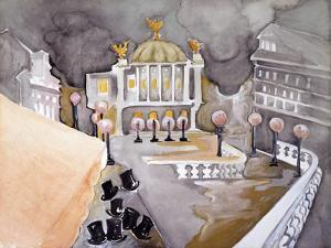 Place De Le Opera by Zelda Fitzgerald