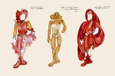 Red Riding Hood paper Doll