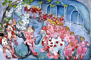 The Queens Croquet Ground by Zelda Fitzgerald