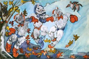 Three Little Kittens Found Their mittens by Zelda Fitzgerald