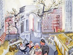 Washington Square by Zelda Fitzgerald