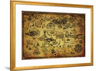 Zelda- Hyrule Map