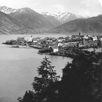 Zell Am See, Salzburg, Austria, C1900s-Wurthle & Sons-Photographic Print