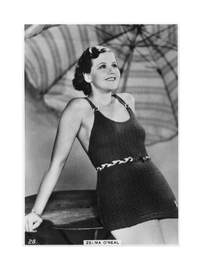 Zelma O'Neal, American Actress, Singer, and Dancer, C1938--Giclee Print