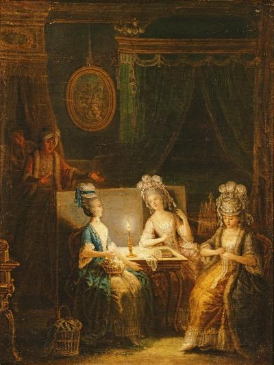 Zémire and Azor, Opera by Marmontel, 1788-Antoine Francois Saint-aubert-Giclee Print