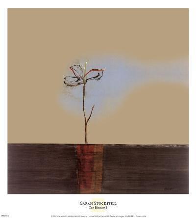 Zen Blossom I-Sarah Stockstill-Art Print