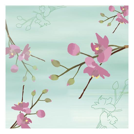 Zen Blossoms 1-Kate Knight-Premium Giclee Print