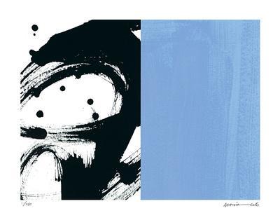 Zen Blue-Maria Lobo-Giclee Print