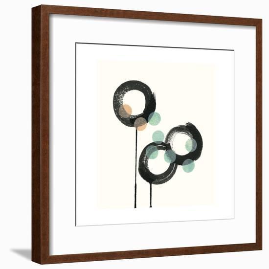 Zen Circles D-Natasha Marie-Framed Premium Giclee Print