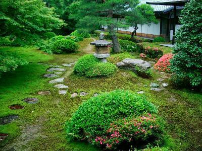 Zen Garden, Kyoto, Japan-Shin Terada-Photographic Print