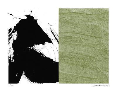 Zen Green-Maria Lobo-Giclee Print