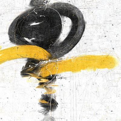 Zen in Yellow I--Art Print