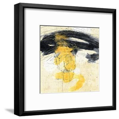Zen in Yellow II--Framed Art Print