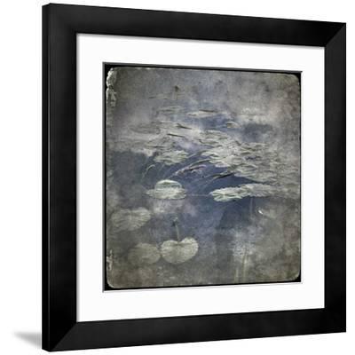 Zen Pond 2-Jean-François Dupuis-Framed Art Print
