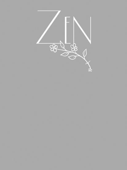 Zen tee-Tina Lavoie-Giclee Print