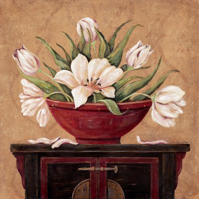 Zen Tulips-Jo Moulton-Art Print